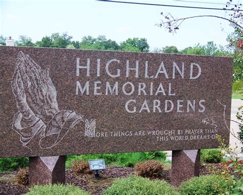 Highland Memory Gardens by Find A Grave Highland Memorial Gardens