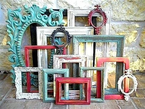 upcycled picture frame ideas customize your own set upcycled picture frames