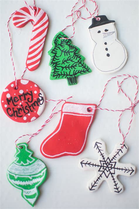 make it bake it christmas ornaments frugal holidays diy clay baked ornaments 5 inexpensive crafts bring