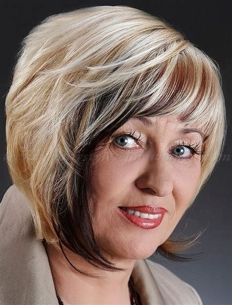 pic of short bob hairstyles for 70 yr old short hairstyles for women over 50 bob haircut for women