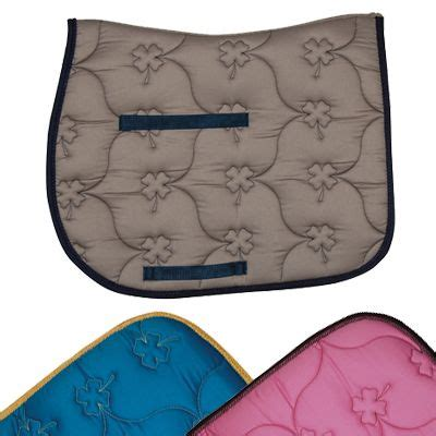 pattern english saddle pads english saddle pad all purpose quilted shamrock pattern