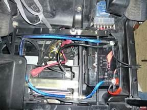 dual battery installation polaris rzr forum rzr forums
