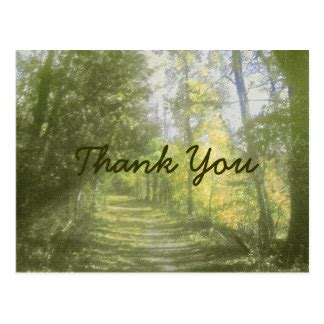 thank you nature postcards | zazzle