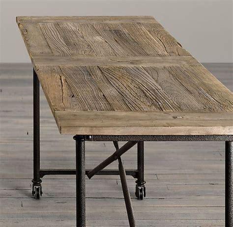 restoration hardware flatiron desk et trendy og funksjonelt bord fra restoration hardware