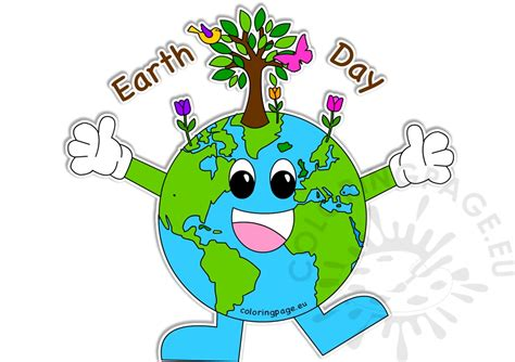 Happy Earth Day by Happy Earth Day 2017 Images Coloring Page