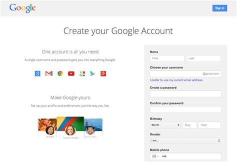 google sign up everything you need to know to get more traffic from