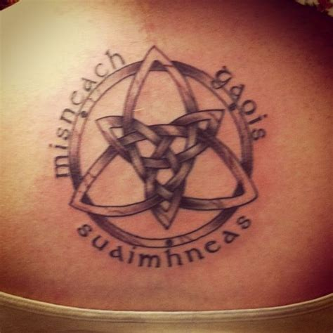 latin courage tattoo gaelic for serenity courage wisdom tattoo pinterest