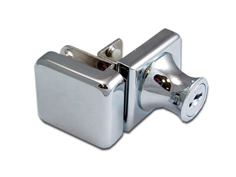 swinging glass door lock cabinet single swinging glass door lock 407 3 5