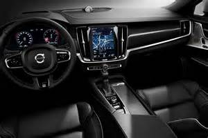 Volvo Interior Volvo S New S90 And V90 R Design Models Are Both Luxurious