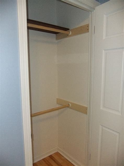 Closet Hanging Rod Ideas by 17 Best Images About Closet Makeover On Closet