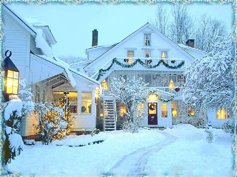 images of christmas in the country winter and christmas wallpapers wallpaper cave