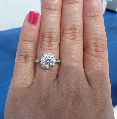 1 75 carat embrace engagement ring bling it on
