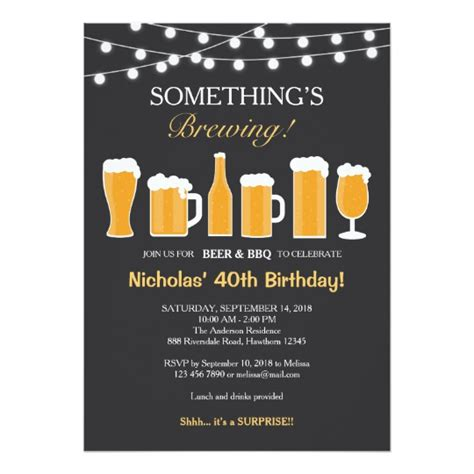 birthday invitations templates for adults birthday invitation birthday card zazzle