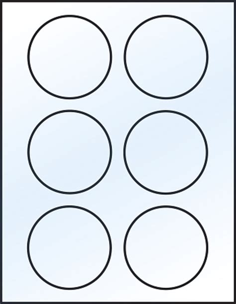 template for circle labels circle template printable clipart best