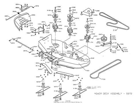 dixon mower parts diagram dixon ztr 4423 2002 parts diagram for mower deck 42 quot