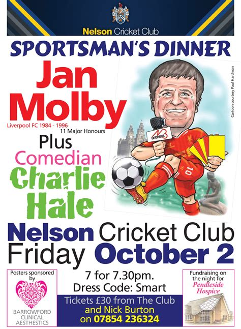 sportsmans dinner nelson cricket club