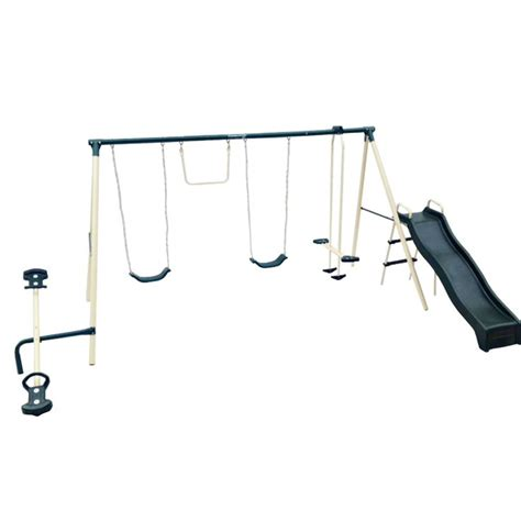 metal swing set with troline the 25 best metal swing sets ideas on pinterest outdoor
