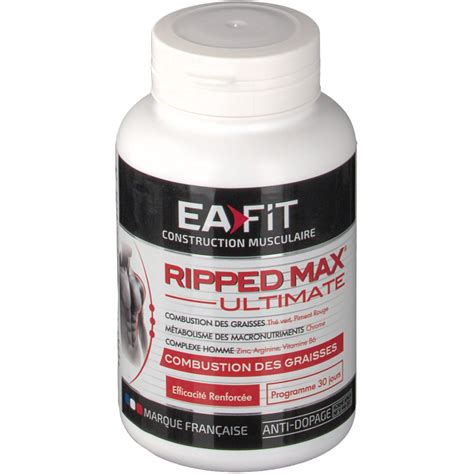 Ea Fitness by Ea Fit Ripped Max Ultimate S 233 Chage Globale Shop Pharmacie Fr