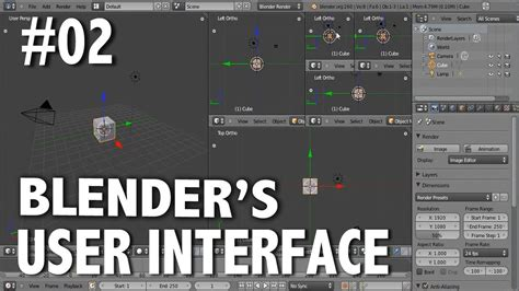 tutorial blender interface blender 2 6 tutorial 02 customizing and saving the ui