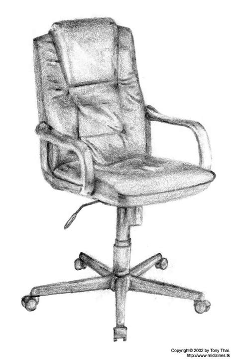 Chair Drawings by Chair Drawing By Midiman On Deviantart