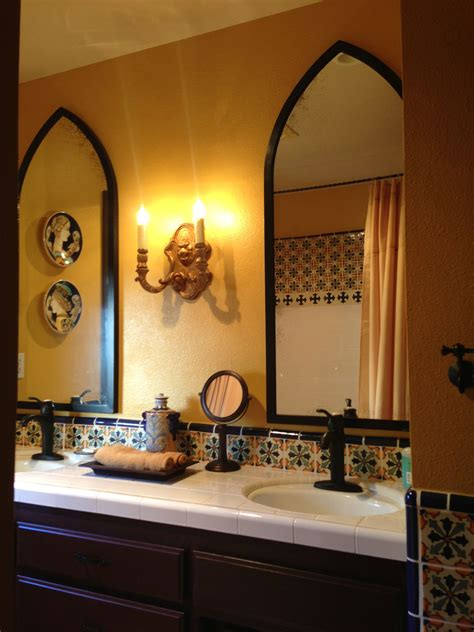 spanish bathrooms spanish bathroom home design pinterest