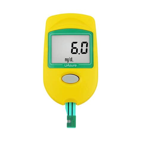Alat Test Asam Urat jual ua sure blood uric acid monitor alat tes asam urat