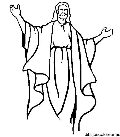 imagenes de jesus para colorear infantiles semana santa dibujos para colorear