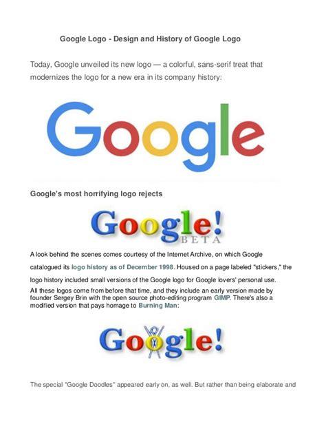 google design today google logo design and history of google logo