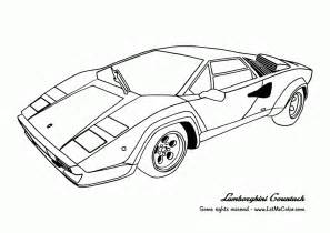 coloring pages lamborghini coloring home