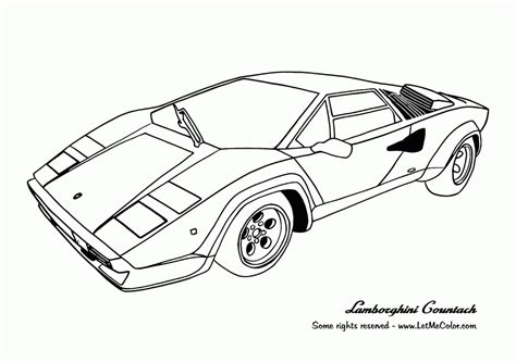 Sport Car Coloring Pages Coloring Home Sports Car Coloring Page