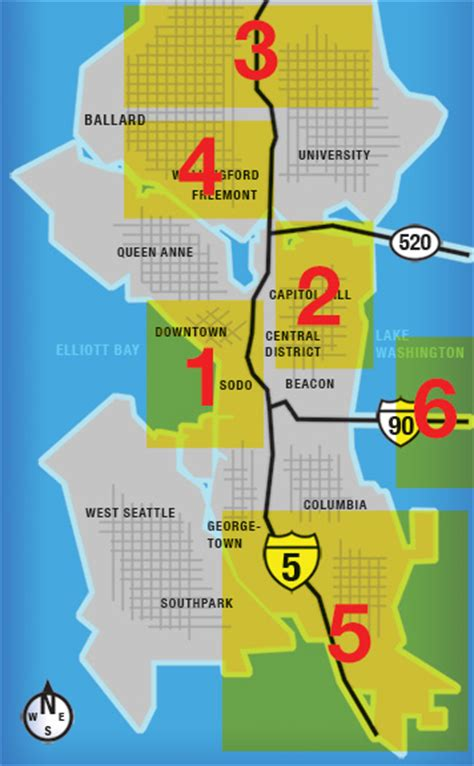 seattle map downtown shopping introducing guide to marijuana stores and marijuana