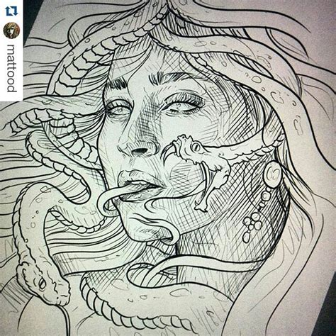 medusa mythology medusa drawing on instagram