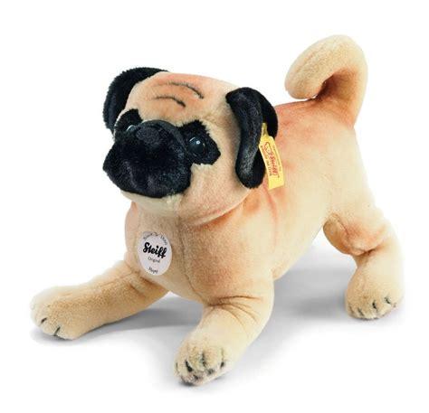 steiff pug steiff 077012 mopsy pug cuddly plush