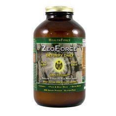 Zeolite Detox Autism by Liquid Clay 32 Oz All Calcium Bentonite Clay