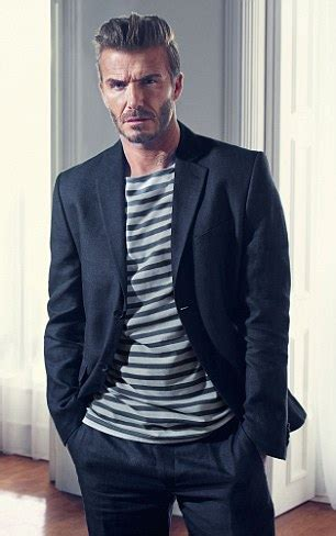 how a 40 year man should dress pics david beckham models h m clothes he thinks your man should