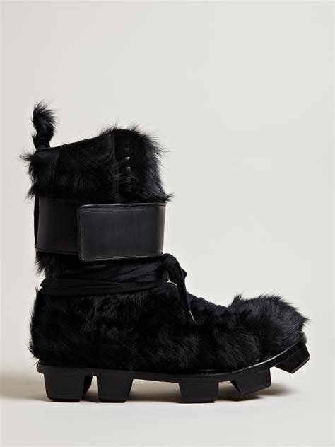 mens fuzzy boots mens fur boots coltford boots