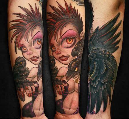 new tattoo feels hot tim senecal gothic pinup babe tattoo pinups