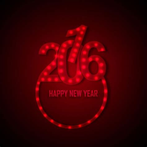 new year 2016 sms messages glowing new year 2016 text vector free