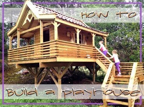 Woodworking Plans Building Playhouse On Stilts Pdf Plans Tree House Plans On Stilts