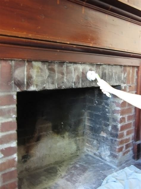 Brick Fireplace Cleaning cleaning fireplace bricks archives the honeycomb home