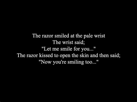 wrist cutting quotes tumblr