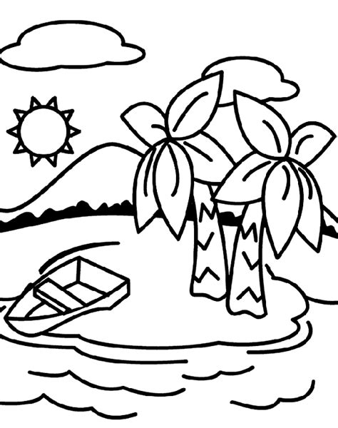 coloring pages for where the things are deserted island crayola co uk