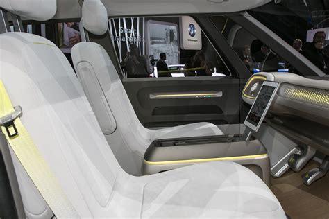 volkswagen concept interior volkswagen i d buzz concept the future of vw combi