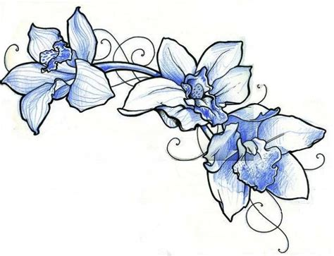blue orchid tattoo best 25 blue orchid ideas on colorful