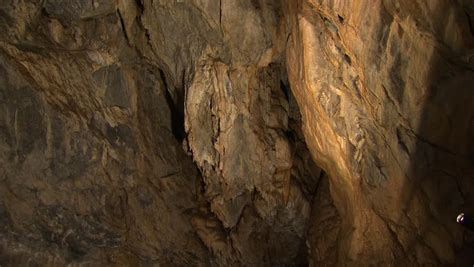 plain cave wall stock footage video  royalty