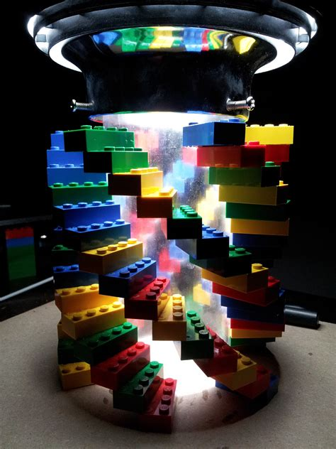Lego Lights by Lego Milwaukee Makerspace