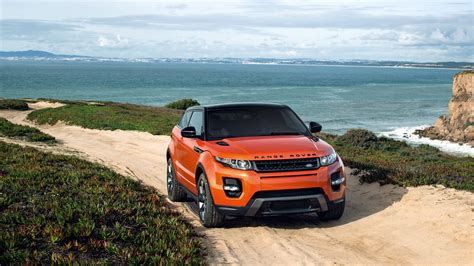 orange range rover evoque range rover evoque hd wallpapers