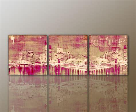 wohnzimmer bild 3 teilig designbilder wandbild modernes bild frankfurt abstrakt