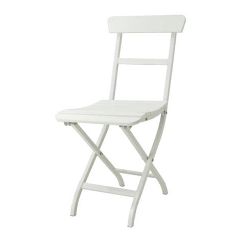 m 196 lar 214 chair outdoor folding white ikea