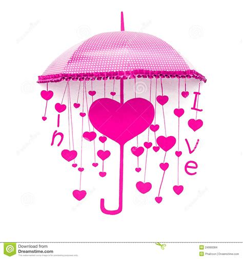 pink umbrella stock photo image of drops sweet retro